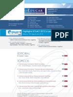 Boletin 78, Agosto 2012 - Programa Educativo PROEDUCAR SOLACI