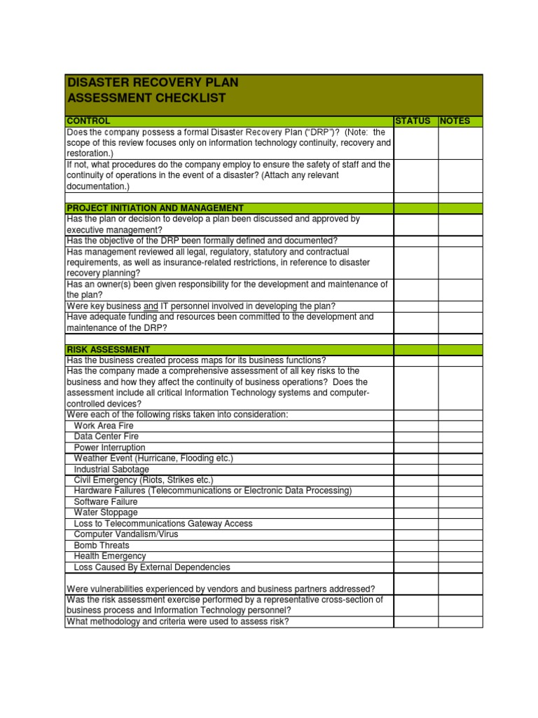 Disaster recovery plan check list disaster recovery computer disaster recovery plan check list disaster recovery computer network 1betcityfo Image collections