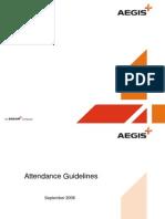 Aegis Attendance Marking System