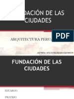 Trabajo de Peruana
