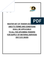 Master Set of Press Tender Documents Local
