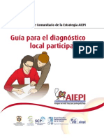Guia Para El Diagnostico Local Participativo