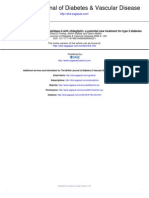 Review Inhibition of Dipeptidyl Peptidase-4 With Vildagliptin a Potential New Treatment for Type 2 Diabetes
