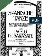 IMSLP24396-PMLP55130-Sarasate - Spanish Dance No4 Jota Navarra Op22 Violin Piano