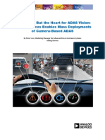 ADI Enables Mass Deployments of Camera-Based ADAS