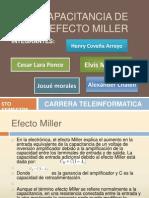 Capacitancia de Efecto Miller