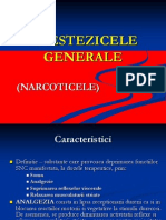 Farmacologie Curs 9+10 Anestezicelegenerale