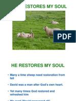 Psalm 23 Class 5