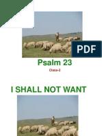 Psalm 23 Class 2