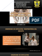 SDRA Semiologia