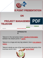 Project Management in Telecom