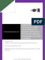 CU00809B configuracion notepad php ventajas editor codigo plugin.pdf