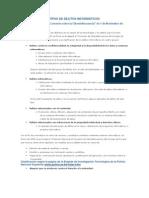 TIPOS DE DELITOS INFORMÁTICOS