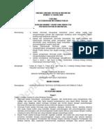 UU RI No 14 TH 2018 Tentang Keterbukaan Informasi Publik
