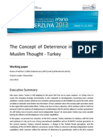 The Concept of Deterrence in Arab and  Muslim Thought - Turkey