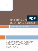 Cuban Revolution and USA-Latin American Relations �