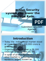 An Effective Security System Can Lower the Pilferage