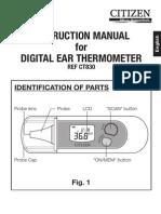 Termometro de Oido Ct830