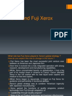 Xerox and Fuji Xerox