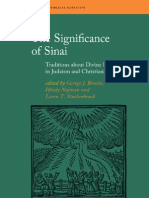 The Significance of Sinai. Traditions About Divine Revelation in Judaism and Christianity (Limited Preview)