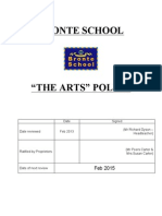 The Arts Policy 2013