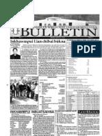 Hmeichhe Inkhawmpui Lian 2013 Bulletin 1 (March 9)