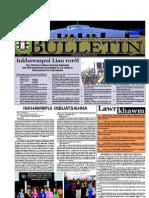 Hmeichhe Inkhawmpui Lian 2013 Bulletin 2 (March 10)