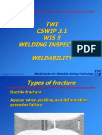 17. Weldability