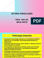 PSIHOLOGIA UMANISTA