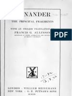 Menander Fragment
