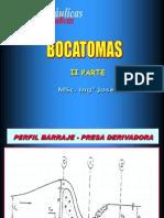 Clase 1 Bocatomas- II Iparte