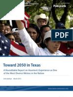 Toward 2050 in Texas