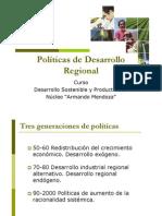 P8 Politicas de Desarrollo Regional
