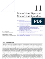 Micro Heat Pipes and Micro Heat Spreaders - Peterson