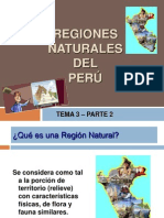 Tema 3 Part 2 - Regiones Naturales Peru