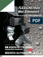 Flexichevron Mist Eliminator Fgd (Catalog Kosh)