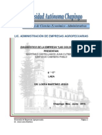 Diagnostico Rancho El Arenal