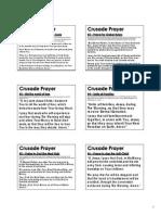 Crusade Prayers (PRINT VERSION)