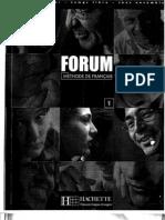 Forum 1- Methode de Francais - Hachette [Livre Complet-Isbn 2011550858] (1) (1)