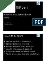 introduction à la monétique cours  1 ESMT [Mode de compatibilité]