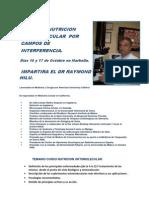 CMH Curso de Nutricion Ortomolecular DR. HILU
