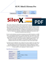 Fuente de Pc Silenx Ixtrema Pro 400w