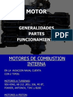 Motor Avion Diapositiva
