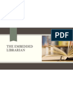 the embedded librarian inservice presentation