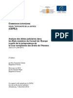 Rapport CEPEJ 2012 Fr