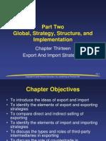 Daniels Ch 13 Exp & Import