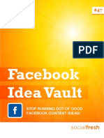 Facebook Idea Vault [Preview]