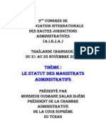 Statut FReportChad