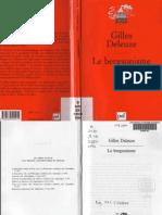 37049482 Gilles Deleuze Le Bergsonisme