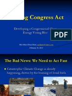 Making Congress Act, Clean Energy Voting Bloc